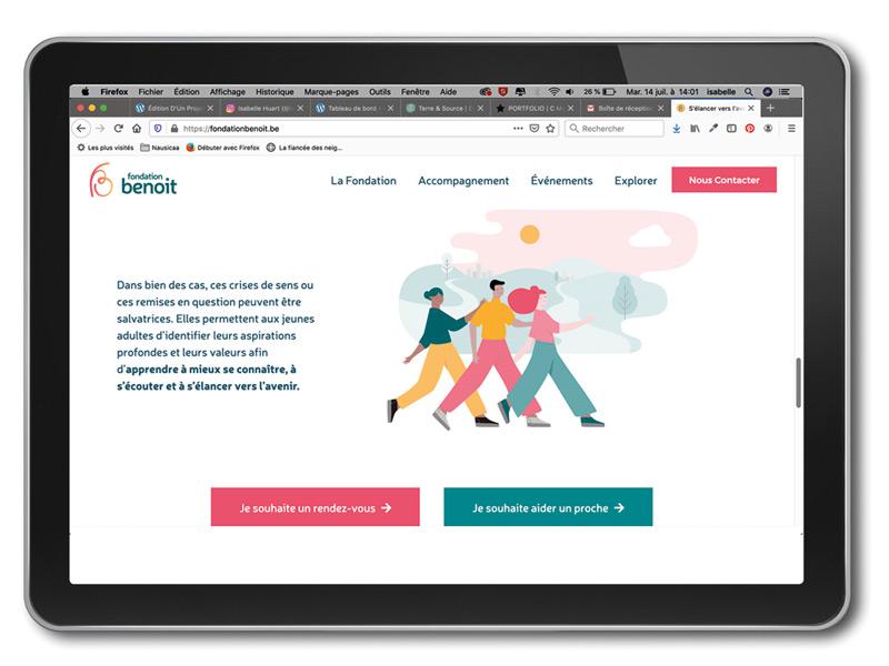 Illustrations Sango – Fondation Benoit